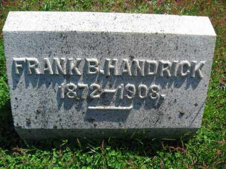 HANDRICK, FRANK - Wyoming County, Pennsylvania | FRANK HANDRICK - Pennsylvania Gravestone Photos