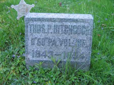 HITCHCOCK (CW), THOMAS P. - Wyoming County, Pennsylvania | THOMAS P. HITCHCOCK (CW) - Pennsylvania Gravestone Photos