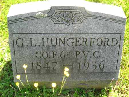 HUNGERFORD (CW), GEORGE L. - Wyoming County, Pennsylvania | GEORGE L. HUNGERFORD (CW) - Pennsylvania Gravestone Photos