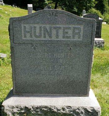 HUNTER (CW), GILBERT - Wyoming County, Pennsylvania | GILBERT HUNTER (CW) - Pennsylvania Gravestone Photos