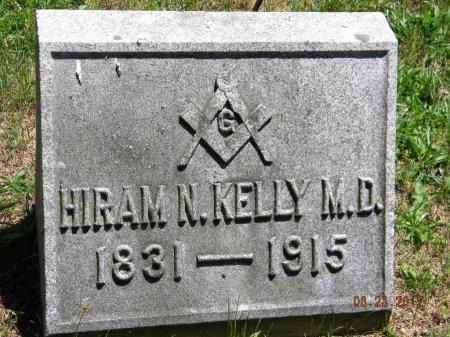 KELLY (CW), HIRAM N. - Wyoming County, Pennsylvania | HIRAM N. KELLY (CW) - Pennsylvania Gravestone Photos