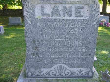 LANE (CW), WILLIAM S. - Wyoming County, Pennsylvania | WILLIAM S. LANE (CW) - Pennsylvania Gravestone Photos