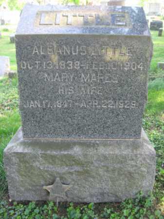 LITTLE (CW), ALBANUS (ALBINAS) - Wyoming County, Pennsylvania | ALBANUS (ALBINAS) LITTLE (CW) - Pennsylvania Gravestone Photos