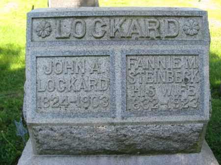 LOCKARD (CW), JOHN A. - Wyoming County, Pennsylvania   JOHN A. LOCKARD (CW) - Pennsylvania Gravestone Photos