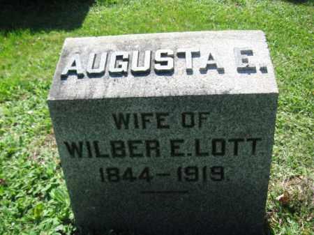 LOTT, AUGUSTA E. - Wyoming County, Pennsylvania | AUGUSTA E. LOTT - Pennsylvania Gravestone Photos