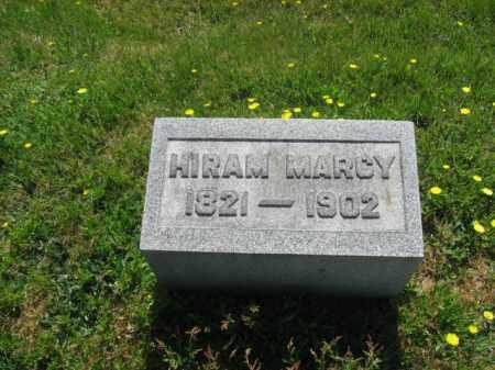 MARCY, HIRAM - Wyoming County, Pennsylvania | HIRAM MARCY - Pennsylvania Gravestone Photos