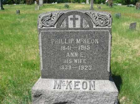MCKEON, ANNE - Wyoming County, Pennsylvania | ANNE MCKEON - Pennsylvania Gravestone Photos