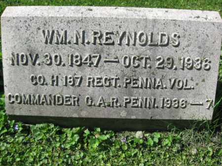 REYNOLDS (CW), WILLIAM N. - Wyoming County, Pennsylvania | WILLIAM N. REYNOLDS (CW) - Pennsylvania Gravestone Photos