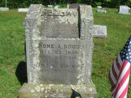 ROUGHT (CW), JEROME A. - Wyoming County, Pennsylvania | JEROME A. ROUGHT (CW) - Pennsylvania Gravestone Photos