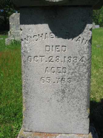 RYAN, MICHAEL - Wyoming County, Pennsylvania | MICHAEL RYAN - Pennsylvania Gravestone Photos