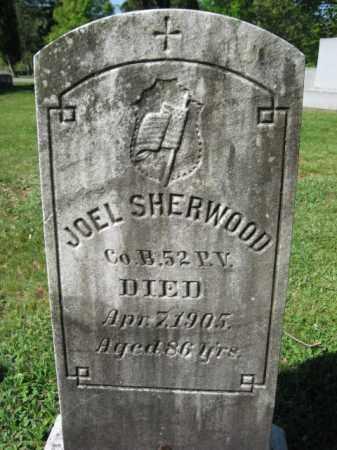 SHERWOOD (CW), JOEL - Wyoming County, Pennsylvania   JOEL SHERWOOD (CW) - Pennsylvania Gravestone Photos