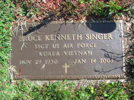 SINGER, BRUCE KENNETH - Wyoming County, Pennsylvania | BRUCE KENNETH SINGER - Pennsylvania Gravestone Photos
