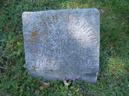 SMITH (CW), AMAZIAH A. - Wyoming County, Pennsylvania | AMAZIAH A. SMITH (CW) - Pennsylvania Gravestone Photos