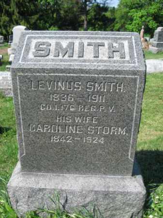 SMITH (CW), CORP.LEVINUS - Wyoming County, Pennsylvania | CORP.LEVINUS SMITH (CW) - Pennsylvania Gravestone Photos