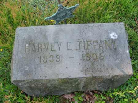 TIFFANY (CW), HARVEY E. - Wyoming County, Pennsylvania | HARVEY E. TIFFANY (CW) - Pennsylvania Gravestone Photos