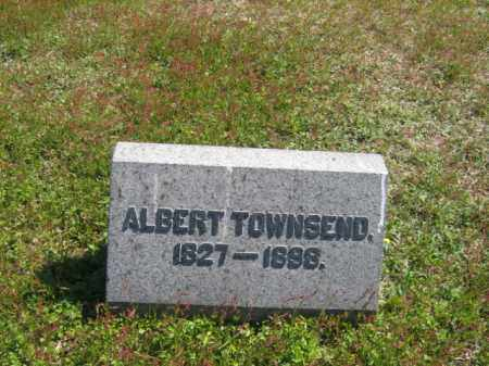 TOWNSEND, ALBERT - Wyoming County, Pennsylvania | ALBERT TOWNSEND - Pennsylvania Gravestone Photos