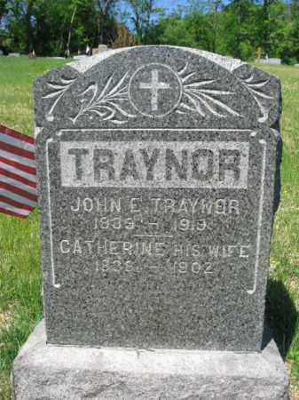 TRAYNOR, CATHERINE - Wyoming County, Pennsylvania | CATHERINE TRAYNOR - Pennsylvania Gravestone Photos