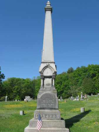 WALKER, ALANSON B. - Wyoming County, Pennsylvania | ALANSON B. WALKER - Pennsylvania Gravestone Photos