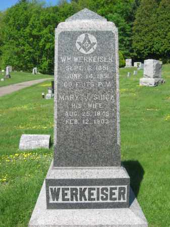 WERKHEISER (CW), WILLIAM - Wyoming County, Pennsylvania | WILLIAM WERKHEISER (CW) - Pennsylvania Gravestone Photos