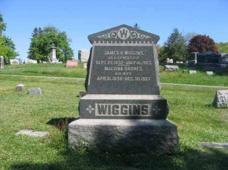 WIGGINS (CW), JAMES H. - Wyoming County, Pennsylvania | JAMES H. WIGGINS (CW) - Pennsylvania Gravestone Photos