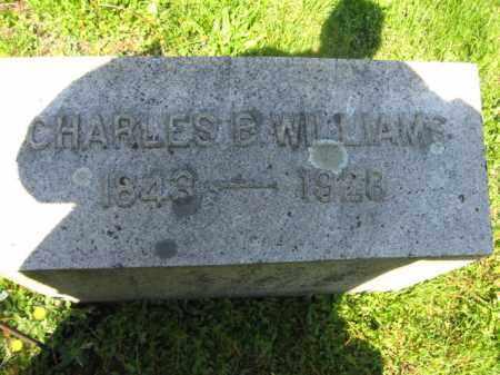 WILLIAMS, CHARLES B. - Wyoming County, Pennsylvania | CHARLES B. WILLIAMS - Pennsylvania Gravestone Photos