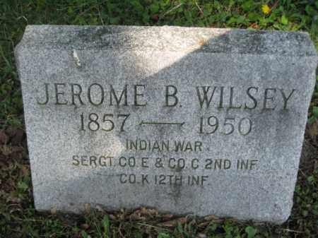 WILSEY (IW), SGT.JEROME B. - Wyoming County, Pennsylvania | SGT.JEROME B. WILSEY (IW) - Pennsylvania Gravestone Photos
