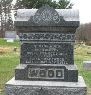 WOOD (CW), HORTON - Wyoming County, Pennsylvania | HORTON WOOD (CW) - Pennsylvania Gravestone Photos