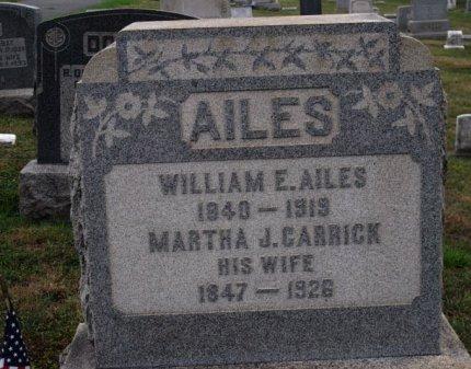 AILES (CW), WILLIAM E. - York County, Pennsylvania | WILLIAM E. AILES (CW) - Pennsylvania Gravestone Photos