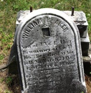 AKER (CW), WILLIAM H. - York County, Pennsylvania   WILLIAM H. AKER (CW) - Pennsylvania Gravestone Photos