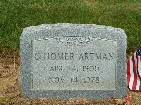 ARTMAN, C. HOMER - York County, Pennsylvania | C. HOMER ARTMAN - Pennsylvania Gravestone Photos