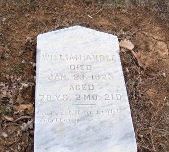 AUBLE (CW), WILLIAM - York County, Pennsylvania | WILLIAM AUBLE (CW) - Pennsylvania Gravestone Photos
