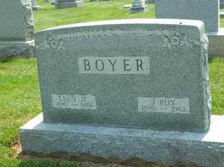 BOYER, J. ROY - York County, Pennsylvania   J. ROY BOYER - Pennsylvania Gravestone Photos