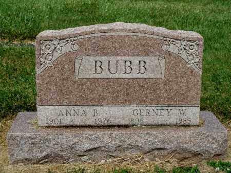 BUBB, ANNA B. - York County, Pennsylvania   ANNA B. BUBB - Pennsylvania Gravestone Photos