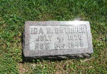 BUTCHER, IDA R. - York County, Pennsylvania | IDA R. BUTCHER - Pennsylvania Gravestone Photos