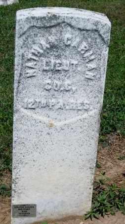 CARMAN (CW), NATHAN - York County, Pennsylvania | NATHAN CARMAN (CW) - Pennsylvania Gravestone Photos