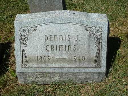 CRIMINS, DENNIS J. - York County, Pennsylvania | DENNIS J. CRIMINS - Pennsylvania Gravestone Photos