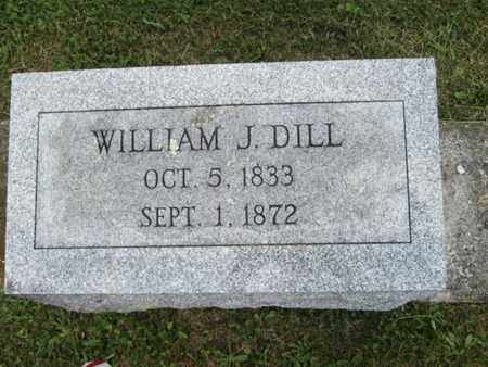 DILL, WILLIAM J. - York County, Pennsylvania | WILLIAM J. DILL - Pennsylvania Gravestone Photos
