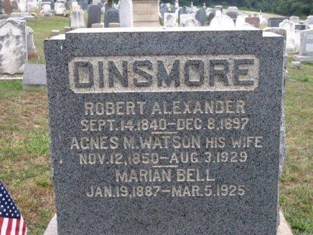 DINSMORE (CW), ROBERT A. - York County, Pennsylvania | ROBERT A. DINSMORE (CW) - Pennsylvania Gravestone Photos