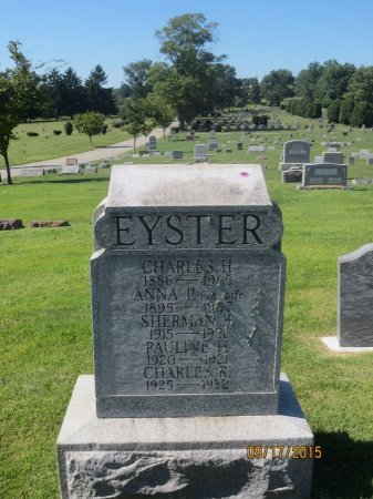 EYESTER, SHERMAN B - York County, Pennsylvania | SHERMAN B EYESTER - Pennsylvania Gravestone Photos