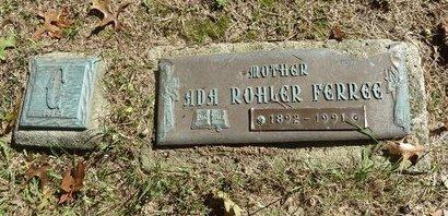 ROHLER FERREE, ADA - York County, Pennsylvania | ADA ROHLER FERREE - Pennsylvania Gravestone Photos