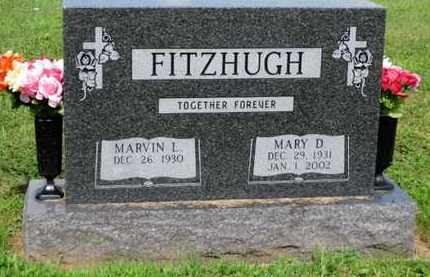 FITZHUGH, MARY D. - York County, Pennsylvania | MARY D. FITZHUGH - Pennsylvania Gravestone Photos