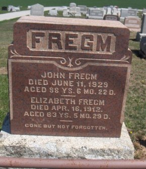 FREGM (CW), JOHN - York County, Pennsylvania | JOHN FREGM (CW) - Pennsylvania Gravestone Photos