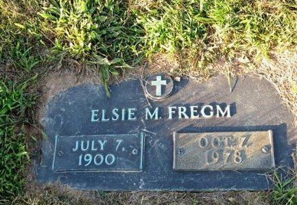 FREGM, ELSIE M - York County, Pennsylvania | ELSIE M FREGM - Pennsylvania Gravestone Photos