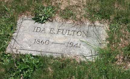 FULTON, IDA E. - York County, Pennsylvania | IDA E. FULTON - Pennsylvania Gravestone Photos