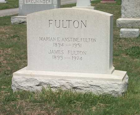 FULTON, JAMES - York County, Pennsylvania | JAMES FULTON - Pennsylvania Gravestone Photos