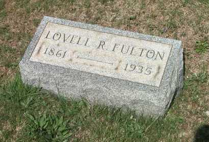 FULTON, LOVELL ROUSSEAU - York County, Pennsylvania | LOVELL ROUSSEAU FULTON - Pennsylvania Gravestone Photos