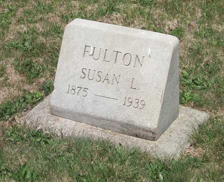 FULTON, SUSAN L. - York County, Pennsylvania   SUSAN L. FULTON - Pennsylvania Gravestone Photos