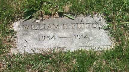 FULTON, WILLIAM H - York County, Pennsylvania | WILLIAM H FULTON - Pennsylvania Gravestone Photos