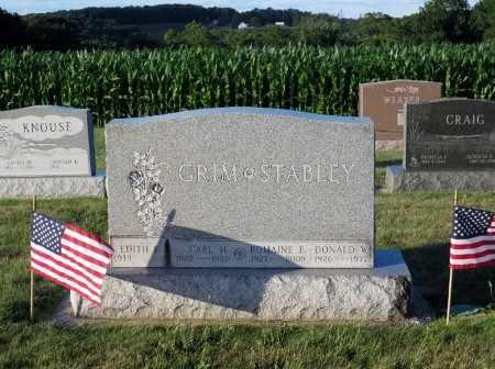 OLEWILER GRIM, EDITH E - York County, Pennsylvania | EDITH E OLEWILER GRIM - Pennsylvania Gravestone Photos