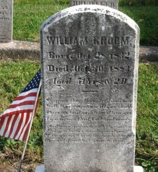 GROOM (CW), WILLIAM - York County, Pennsylvania | WILLIAM GROOM (CW) - Pennsylvania Gravestone Photos